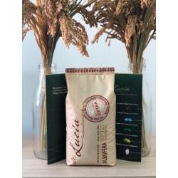 Albufera Rice 1kg. package OPP-BIO